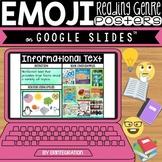 Distance Learning Google Slides Book Genre Activity