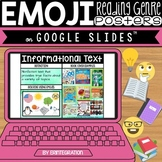 Distance Learning Google Slides Book Genre Activity
