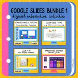 Google Slides Bundle - Digital Interactive Activities