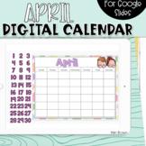 Google Slides Calendar | April