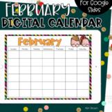 Google Slides Calendar | February