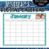 Google Slides Calendar | January