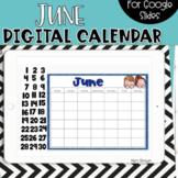 Google Slides Calendar | June