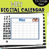 Google Slides Calendar | May