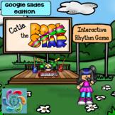 Interactive Music Game (Rhythm)-Google Slides & Adobe Catie the Rock Star!