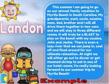 Summer Time Collaborative Book in Google Slides™☀