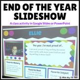 Google Slides Collaborative Memory Slideshow & Book (End o