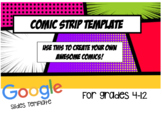 Google Slides Comic Strip Template!