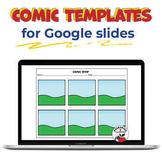 Google Slides - Digital & Interactive - Comic Strip Template