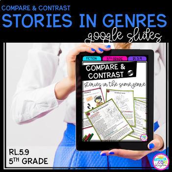 Google Slides Compare Stories in Genres - 5th RL.5.9