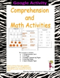 Google Slides - Comprehension and Math Activities using It