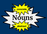 Concrete & Abstract Nouns  - Google Slides