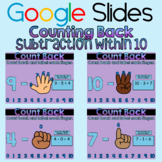 Google Slides: Counting Back (Subtraction within 10)