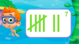 Google Slides - Counting Tally Marks Lesson - Bubble Guppies