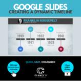 Google Slides - Creating a Dynamic Timeline (Distance learning)