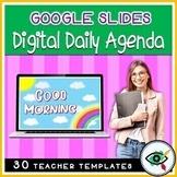 Google Slides Daily Agenda Templates   NEW Animated GIF Slides