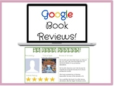 Google Slides Digital Book Reviews or Book Recommendations Template