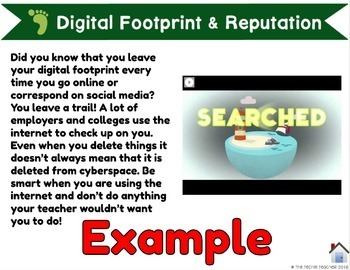 Digital Citizenship Student Project in Google Slides™