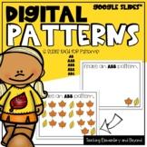 Google Classroom™ Digital Fall Patterning Activity for Dis