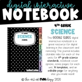 Google Slides Digital Interactive Notebook 4th Grade Scien