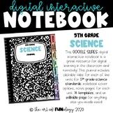 Google Slides Digital Interactive Notebook 5th Grade Scien