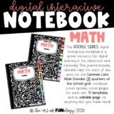 Google Slides Digital Math Interactive Notebook Template |