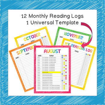 Google Slides Digital Reading Logs and Graphic Organizers