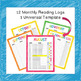 Digital Reading Logs | 10 Graphic Organizers Distance Learning Google Classroom