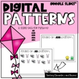 Google Classroom™ Digital Spring Patterning Activity for D
