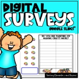 Google Classroom™ 75 Digital Survey Graphing Questions for