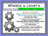 DIGITAL GOOGLE SLIDES Wheels and Levers Simple Machines Gr