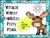 Google Slides Digital Winter Party | Virtual Classroom Win