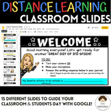 Google Slides Distance Learning Classroom Template