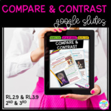 Google Slides Distance Learning Compare & Contrast - 2nd &