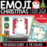 Google Slides Emoji Christmas Countdown