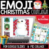 Google Slides Emoji Christmas Countdown