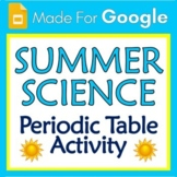Google Slides End of Year Summer Science Activity Periodic Table