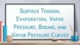 Google Slides: Evaporation, Boiling, Vapor pressure (With