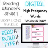 Google Slides™ First Grade Reading Wonders DIGITAL High Fr