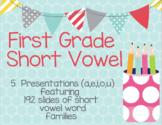 Google Slides First Grade Short Vowel Words