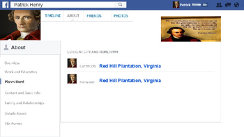 Google Slides Create a Founding Fathers Facebook Page Project Based Learning PBL