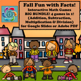 Google Slides Games- Fall Fun with Facts BIG Bundle #BTSBl