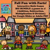 Google Slides Games- Fall Fun with Facts BIG Bundle