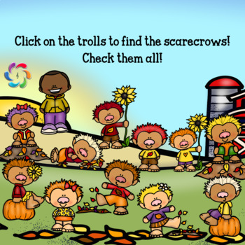 Google Slides Interactive Addition-Fall Fun with Facts