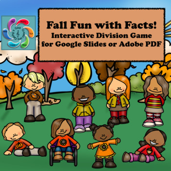 Google Slides Games Interactive Division- Fall Fun with Facts