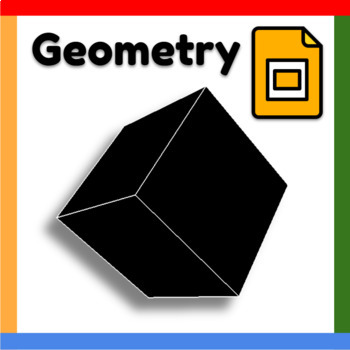 Google Slides ™︱Geometry Vocabulary - Distance Learning