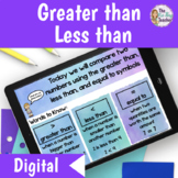 Greater than Less than Lesson | Distance Learning