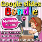 Google Slides Distance Learning Growing Bundle NO PREP