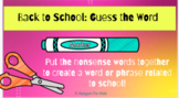 Google Slides Guess the Nonsense Word: School Edition