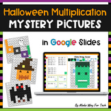 Google Slides Halloween Multiplication Mystery Pictures Activity
